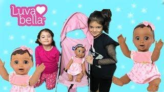 DÜNYANIN EN AKILLI BEBEĞİ LUVABELLA ALDIK! Taking Care of Luvabella Babies - Playing and Feeding