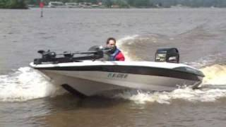 Bass Boat Crash