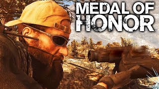 Medal of Honor 2010 Sniper Mission Gameplay PC