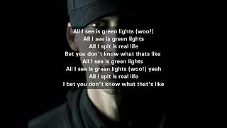 NF - Green Lights (Lyrics)