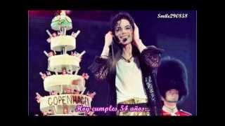 Feliz Cumpleaños #54 Michael Jackson
