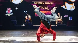 Nasso VS Bruce Almighty - FINAL BATTLE - Red Bull BC One Western Europe Final 2015