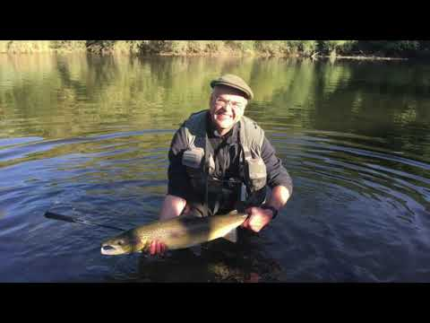 Salmon Fishing On The River Usk (2018)