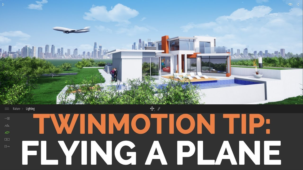 FLYING AN PLANE IN TWINMOTION [FAQ /TIP]