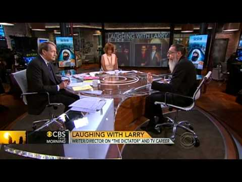 Larry Charles on new comedy,