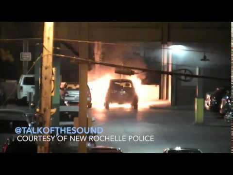 The car explosion in New Rochelle last week.