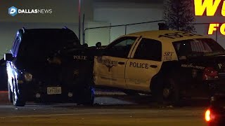 2 men killed in shootings, officer involved in wreck while responding at Fort Worth Home Depot