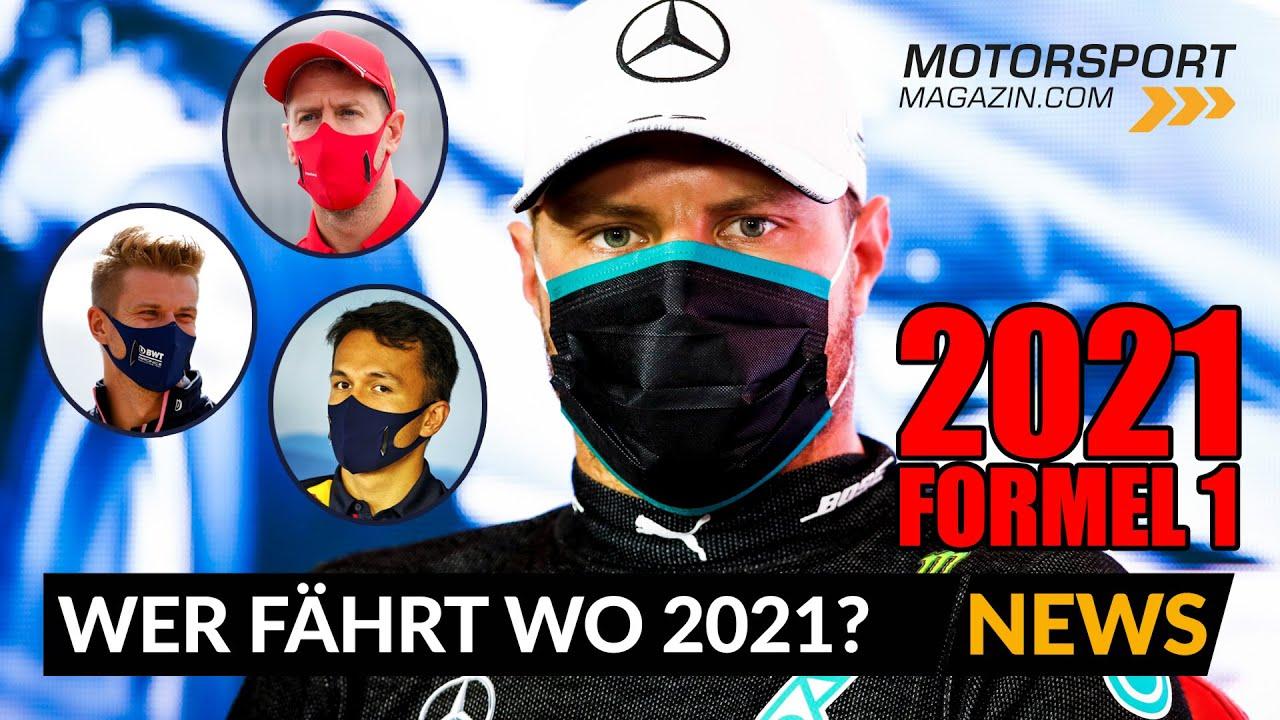 Neuer Vertrag für Bottas! Wer fährt 2021 wo?