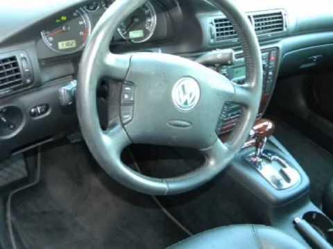 2003 VOLKSWAGEN Passat GLX 4MOTION AWD Sdn V6 Auto 1 Owner Low Miles