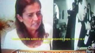 Sandra Muente/Beto Danelli - Reportaje:Buenos Dias Peru