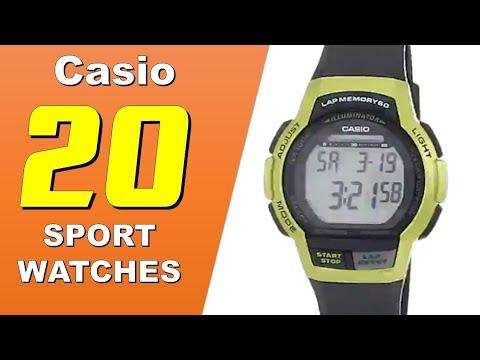 20 Must Have Casio Men's Sport Watches
