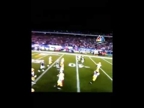 new england Patriots Dan Connolly 71 yard kick off return