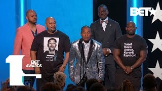 the-exonerated-five-are-honored-for-their-truth-resilience-bet-awards-2019