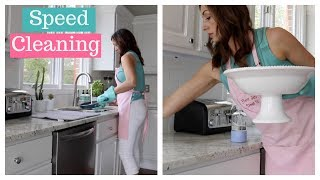 Speed Cleaning My House ⏱ Speed Clean with Me ⏱ Cleaning Motivation