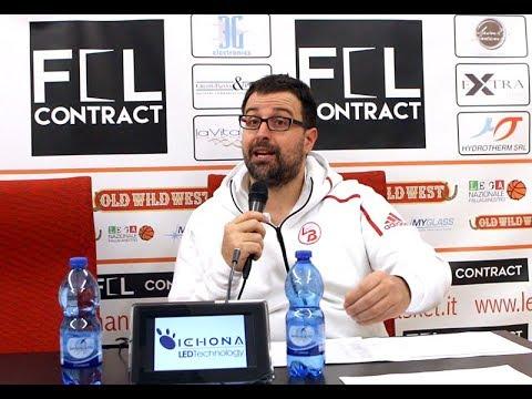 Conferenza stampa Legnano-Treviglio del 11/02/2018