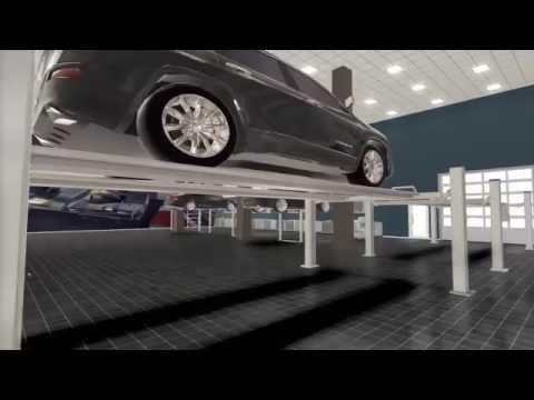 Auto repair shop 3D design
