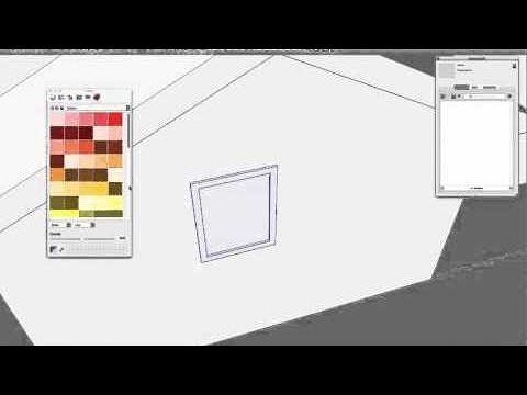 SketchUp Skill Builder: Cutting Window Components