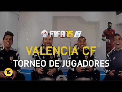 Torneo FIFA 15 - Valencia CF - Mustafi y Cancelo vs Rodrigo y Vezo