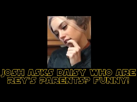 Thumbnail: Josh Gad Asks Daisy Ridley Who Rey's Parents Are? (FUNNY)