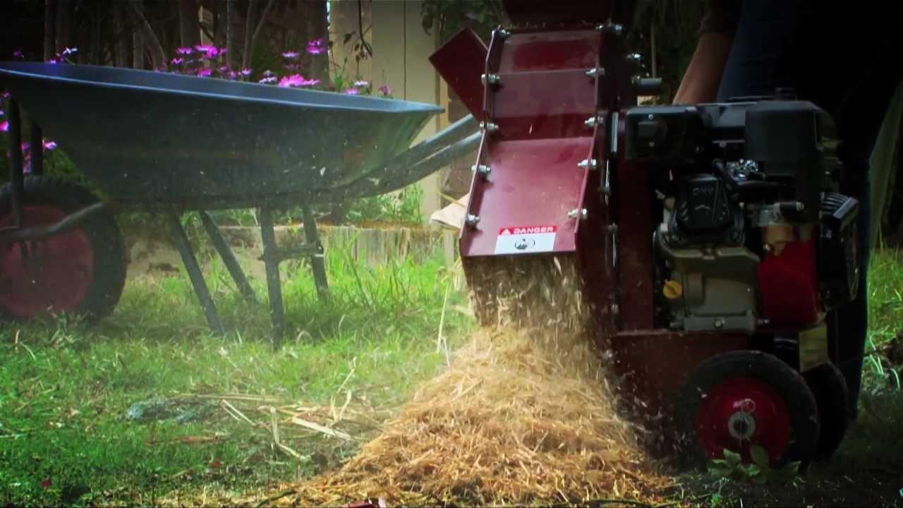 Yardeco Recycler Garden Mulcher YouTube