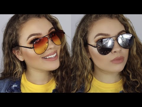 2eef626486 Sunglasses for Round Faces   Quay x Desi - YouTube
