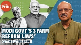 What Modi Govt's 3 Agriculture reform bills mean, political controversy & hypocrisy around these