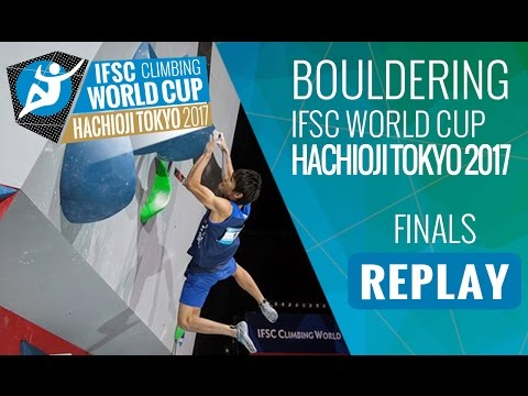 IFSC Climbing World Cup Hachioji-Tokyo 2017 - Bouldering - Finals - Men/Women