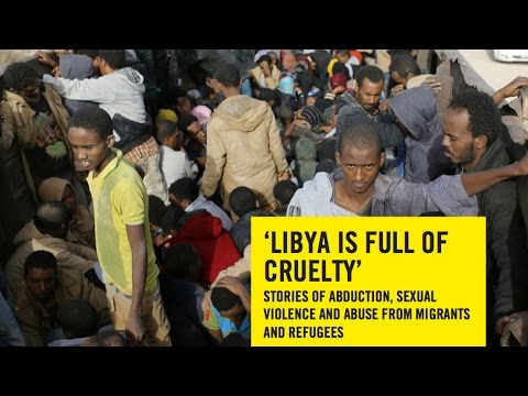 E.U. Seeks U.N. Backing for Military Action to Stop Wave of Migrants Fleeing Horrific Abuse in Libya