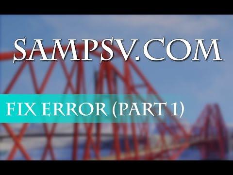 SAMPSV - Fix một số lỗi cơ bản ( Phần 1 )