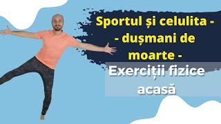 Exerciții fizice pentru pielea lăsată și celulită // MoveInspireFIT // Ziua 2