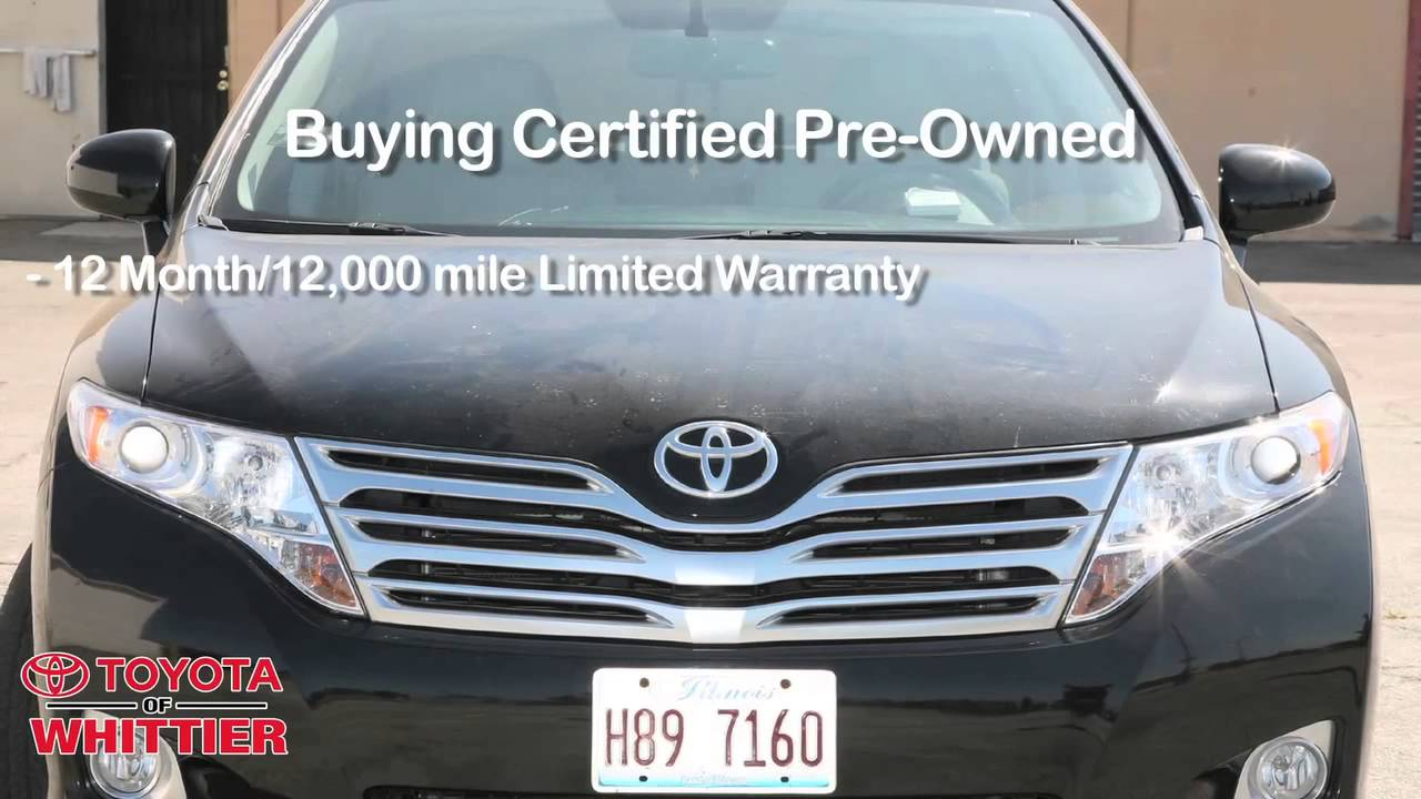 what does toyota certified pre owned vehicle mean used inspected warranty 888 718 3693 youtube. Black Bedroom Furniture Sets. Home Design Ideas