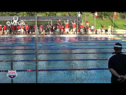 Women's 1500m Freestyle A Final - 2012 Junior Pan Pacific Championships