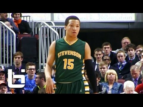 Jalen Brunson scores record 56 points in State Semis vs Jahlil Okafor (Whitney Young)