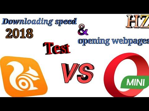 uc browser vs opera mini speed test 2018 best browser. Black Bedroom Furniture Sets. Home Design Ideas