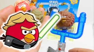 Angry Bird Star Wars Toys - Attack Battle Game