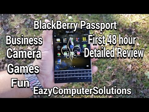 Blackberry Passport First 48 Hour Detailed Review: Business | Camera | Games | Fun