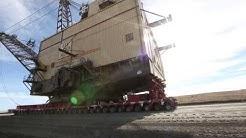 Eight Million Pound Dragline Crosses New Mexico