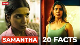 20 Facts You Didn't Know About Samantha Akkineni   Hindi   The Family Man