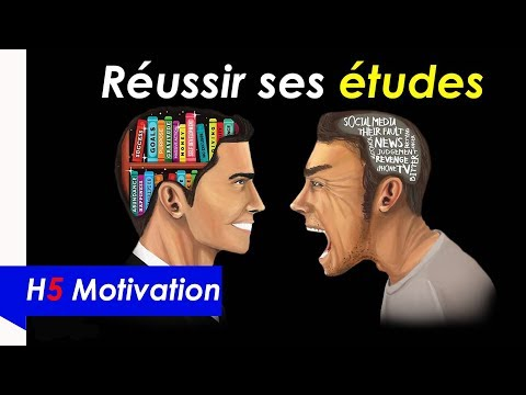 How to pass exams - Motivation study - motivational video in french - H5 Motivation # 17