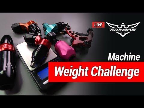 Tattoo Machine Weight Challenge - In Memory of Konrad Lackner