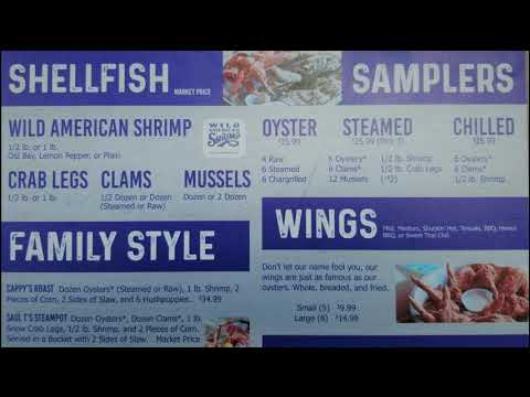 Shuckin Shack Oyster Bar - 2019 Menu Reveal