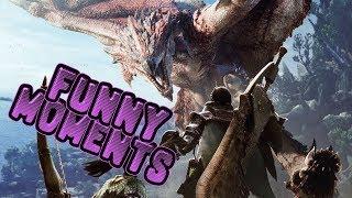 Monster Hunter: World - Funny Moments!