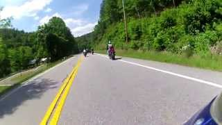Blood Mountain Ride At The High Meet - ( U.S Route 19 )