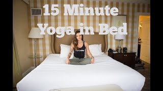 15 Minute Yoga in Bed