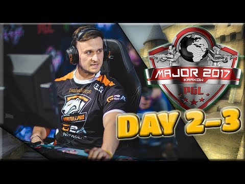 PGL Major Krakow: Day 2 - 3 Highlights (Best Moments, Clutches)