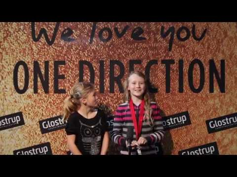 A short video-greeting for One Direction from Glostrup Shoppingcenter.