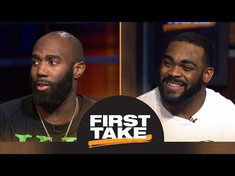 Eagles' Malcolm Jenkins and Brandon Graham talk winning the Super Bowl | First Take | ESPN