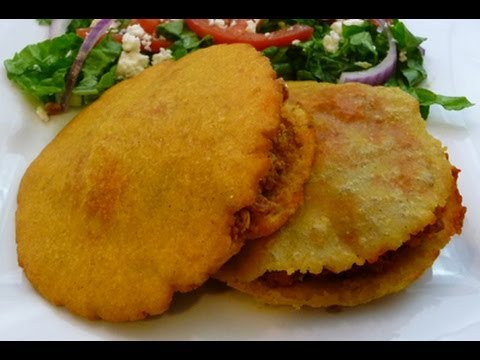 "Gorditas Fritas ""Infladas"" receta comida Mexicana, recipe - YouTube"