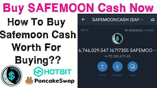 SAFEMOON Cash - How To Buy Safemoon Cash On Pancakeswap | listed on hotbit | Tamil