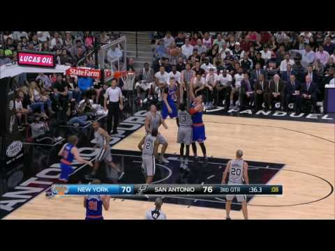 New York Knicks at San Antonio Spurs - March 25, 2017